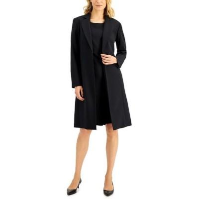 ル スーツ ワンピース トップス レディース Petite Dress Suit Black