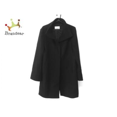 エムプルミエブラック M-premierBLACK コート サイズ38 M レディース 黒 冬物   スペシャル特価 20210107