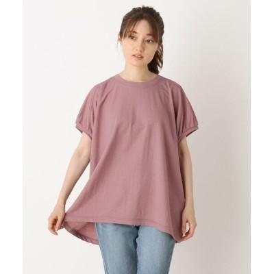 SHOO・LA・RUE/シューラルー ひんやりゆるTシャツ ラズベリーピンク(073) 03(L)