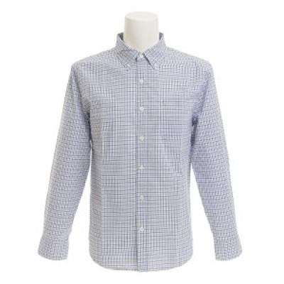 クー(Coo.)ブロード チェックシャツ 871Q7CG2489BLU オンライン価格(Men's)
