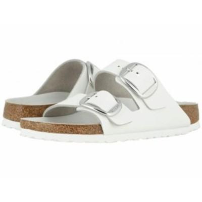 Birkenstock ビルケンシュトック レディース 女性用 シューズ 靴 サンダル Arizona Big Buckle White Leather【送料無料】