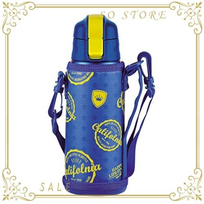 パール金属 キッズチャージャー ダイレクト ボトル 600 スターポーチ付 HB-2797 ブルー サイズ:(約)幅8奥行9高さ24.5
