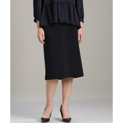 INED / イネド 《大きいサイズ》ストレートタイトスカート