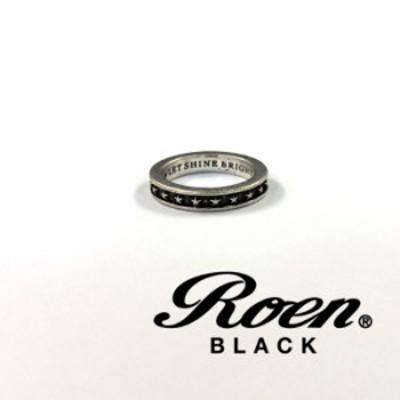 Roen BLACK【ロエンブラック】 スターリング [ro-651] 星 アクセサリー メンズ シルバー リング 指輪 ペア