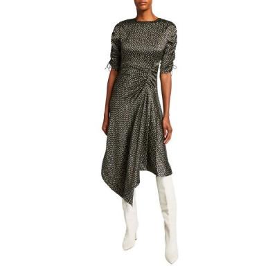 ジョナサンシムカイ レディース ワンピース トップス Vera Silk Handkerchief Dress