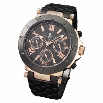 Salvatore Marra サルバトーレマーラ 腕時計 メンズ マルチファンクション SM14118-PGBK