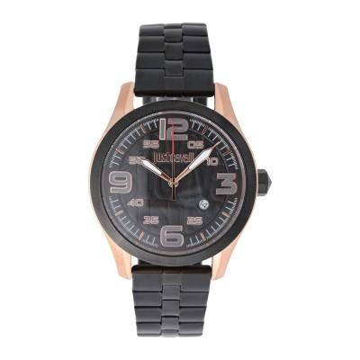 ジャストカヴァリ JUST CAVALLI 腕時計 ブラック ステンレススチール 腕時計