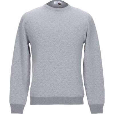 ヘリテイジ HERITAGE メンズ ニット・セーター トップス sweater Light grey