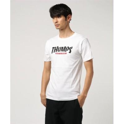 tシャツ Tシャツ ストリートロゴプリントクルーネック半袖Tシャツ