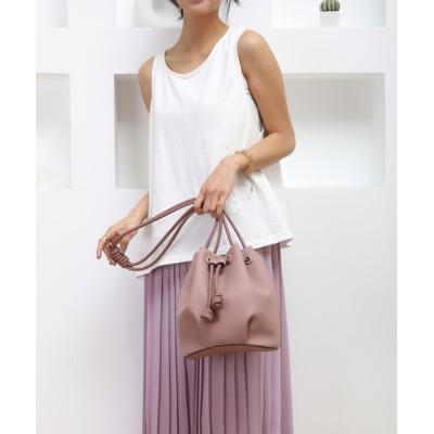 style code / 【Ungrid/アングリッド】ソフトグレイン巾着 WOMEN バッグ > ショルダーバッグ