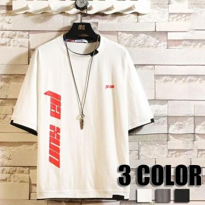 トップス メンズTシャツ 夏 夏物 半袖 メンズ  薄手 大きいサイズ Tシャツ 春 夏  Tシャツ メンズ用 ホワイト グレー ブラック 男性用 夏Tシャツ 3色