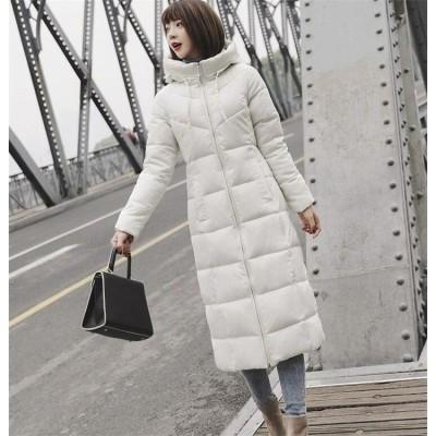 ≪今だけ⚠お試し価格≫ ファッション ダウンジャケット  2019  冬 新作 韓国 ロングセクション カジュアル ゆったりする 大きいサイズ エレガント 小さい新鮮な 女性 百掛け コート