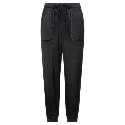 ラブ モスキーノ LOVE MOSCHINO パンツ ブラック 44 レーヨン 100% / ポリエステル パンツ