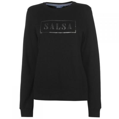 サルサ Salsa レディース スウェット・トレーナー トップス Logo Sweatshirt