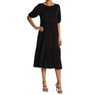 ウエスト ケイ レディース ワンピース トップス Knit Mini Dress BLACK