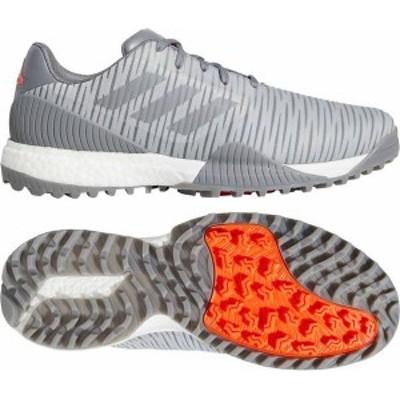 アディダス メンズ スニーカー シューズ adidas Men's CODECHAOS Sport Golf Shoes Grey/Red