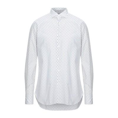 GUGLIELMINOTTI シャツ ホワイト 38 コットン 100% シャツ