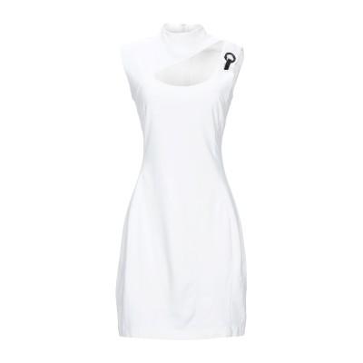 VERSACE JEANS ミニワンピース&ドレス ホワイト 48 レーヨン 70% / ナイロン 24% / ポリウレタン 6% ミニワンピース&