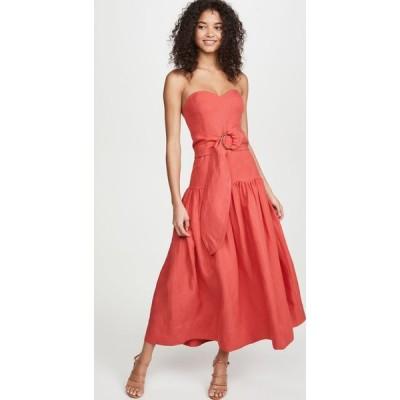 マラ ホフマン Mara Hoffman レディース ワンピース ワンピース・ドレス Augustina Dress Red