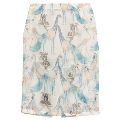 LA PERLA 七分丈スカート  レディースファッション  ボトムス  スカート  ロング、マキシ丈スカート ホワイト
