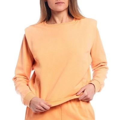 ジービー レディース パーカー・スウェット アウター Coordinating Drop Shoulder Sweatshirt