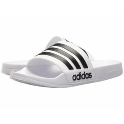adidas アディダス メンズ 男性用 シューズ 靴 サンダル Adilette Shower White/Black/White【送料無料】