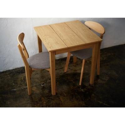 ダイニング テーブルのみ ナチュラル 幅68 奥行き68 高さ72cm ダイニングテーブル 天然木 木製 食卓テーブル 角型