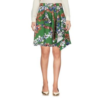 MSGM ひざ丈スカート  レディースファッション  ボトムス  スカート  ロング、マキシ丈スカート グリーン