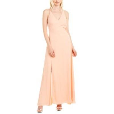 フェームアンドパートナー レディース ワンピース トップス Fame and Partners Maxi Dress peach