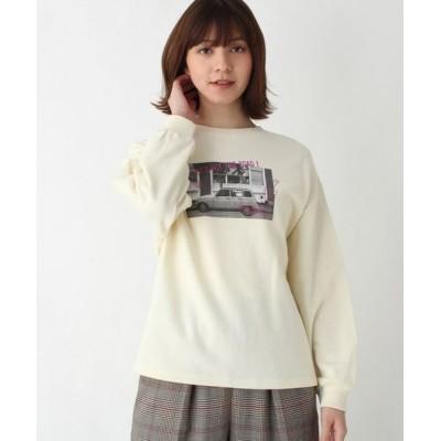 SHOO・LA・RUE/シューラルー 【親子リンク】mamaフォトプリントスウェット アイボリー(004) 99(FREE)