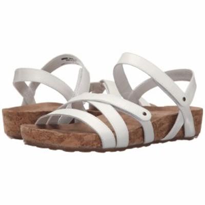 ウォーキング クレードル Walking Cradles レディース サンダル・ミュール シューズ・靴 Pool White Cashmere/Cork Wrap