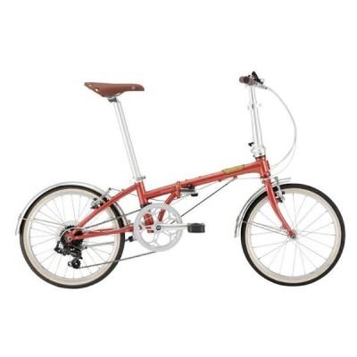 DAHON (ダホン) 2021 Boardwalk D7 ボードウォーク ブリックブラウン (142-193cm) 折りたたみ自転車