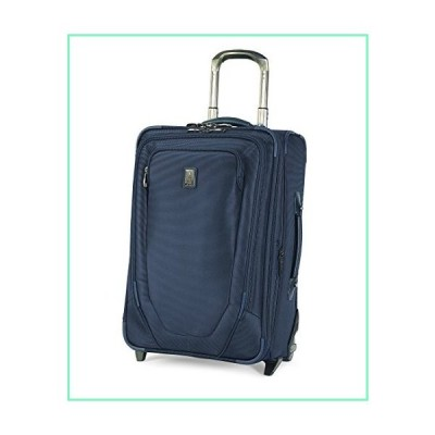 Travelpro Crew 10 - Softside Expandable Rollaboard Luggage, Navy, Carry-On 22-Inch【並行輸入品】