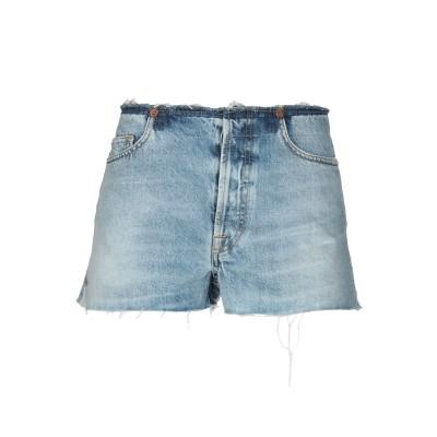 IRO.JEANS デニムショートパンツ ブルー 29 コットン 100% デニムショートパンツ