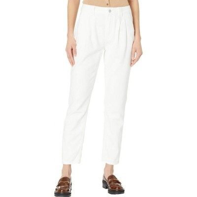 ペイジ Paige レディース ジーンズ・デニム ボトムス・パンツ Pleated Trousers w/ Cuff Bright Ivory
