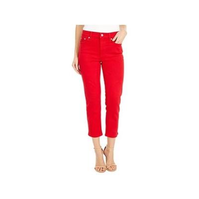 LAUREN Ralph Lauren Premier Straight Crop Jeans in Bold Red Wash レディース ジーンズ Bold Red Wash
