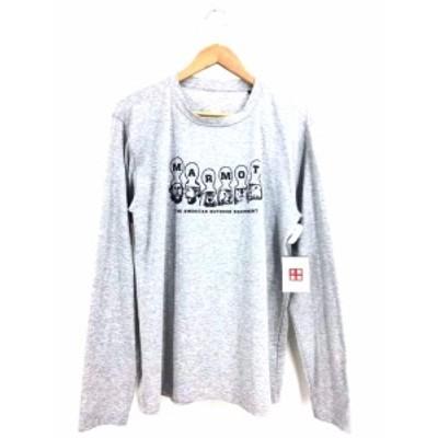 マーモット MARMOT クルーネックTシャツ サイズJPN:L メンズ 【中古】【ブランド古着バズストア】