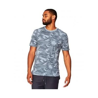 Threads 4 Thought スレッドフォーソート メンズ 男性用 ファッション Tシャツ Camo Print Crew Tee - China Blue