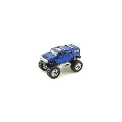 2008 Hummer H2 SUV Lifted Off Road 1/40 Blue