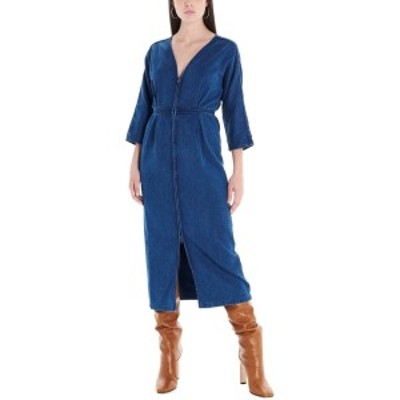 MARA HOFFMAN/マラ ホフマン Blue Denim dress レディース 秋冬2019 W908209120423 ju
