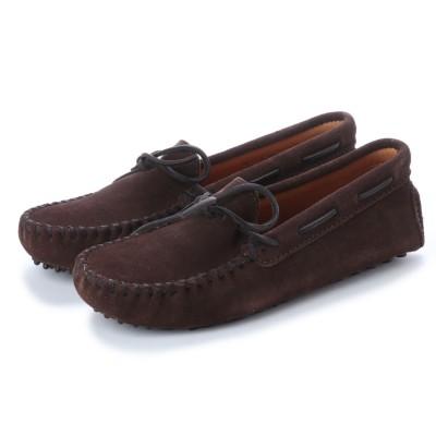ミネトンカ Minnetonka Driving Moccasin Shoes (チョコブラウン)