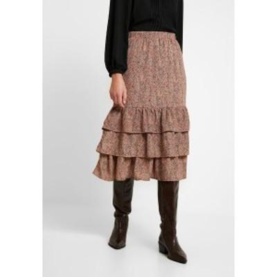 セレクテッドフェム レディース スカート ボトムス SLFTAMMI SKIRT - Pencil skirt - ginger bread ginger bread