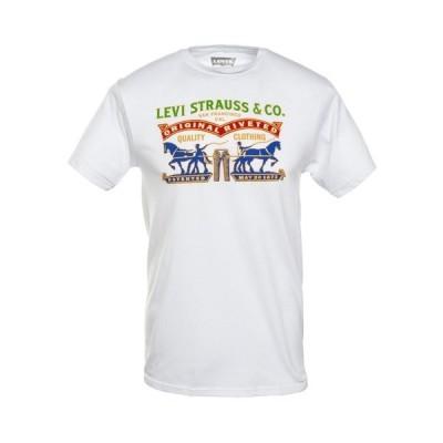 リーバイス Tシャツ トップス メンズ Men's Logo Graphic T-Shirt White