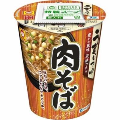 マルちゃん うまいつゆ 肉そば ケース(72g*12個入)[カップ麺]