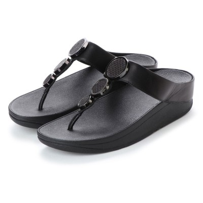フィットフロップ FitFlop HALO TOE THONG SANDALS (Black)