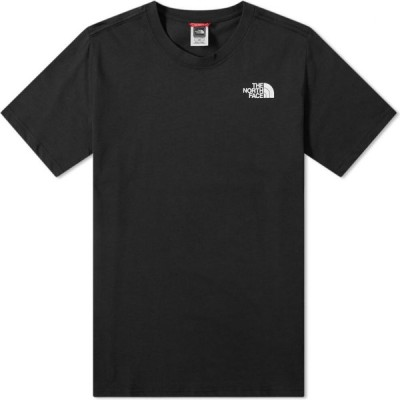 ザ ノースフェイス The North Face メンズ Tシャツ トップス Red Box Tee Black/Red