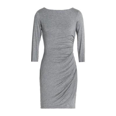 BAILEY 44 ミニワンピース&ドレス グレー L レーヨン 95% / ポリウレタン 5% ミニワンピース&ドレス