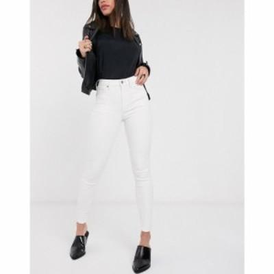 トップショップ Topshop レディース ジーンズ・デニム ボトムス・パンツ Jamie jeans in off white ホワイト