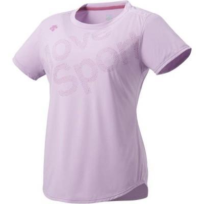 Tシャツ レディース 半袖 レディース トップス レディース ウィメンズ SUNSCREENハイゲージ半袖Tシャツ DMWRJA50  (DES)