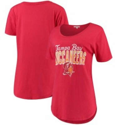 Junk Food ジャンク フード スポーツ用品  Junk Food Tampa Bay Buccaneers Womens Red Game Time T-Shirt